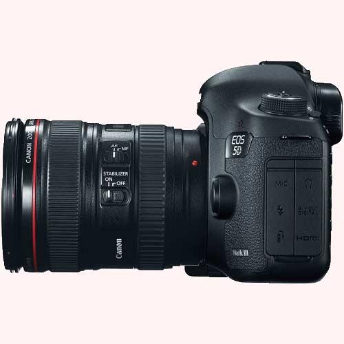 امکانات عکاسی دوربین کانن EOS 5D Mark III