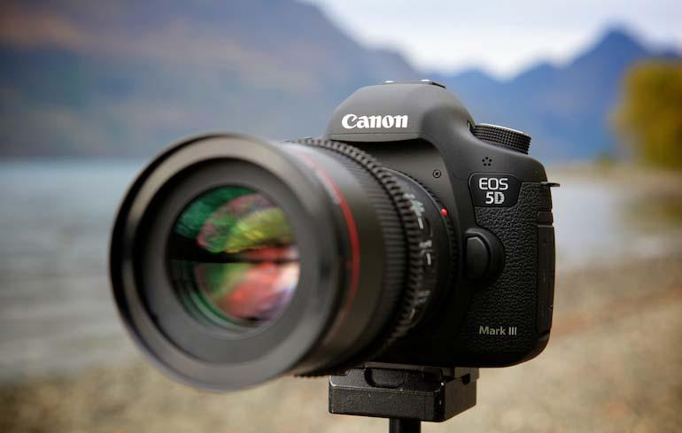 قابلیت های فیلمبرداری دوربین کانن EOS 5D Mark III
