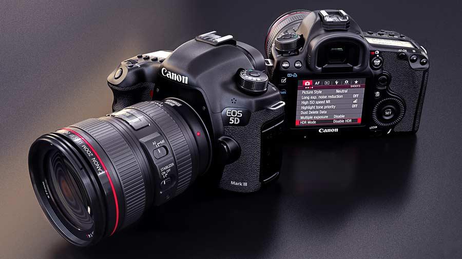 سیستم فوکوس دوربین کانن EOS 5D Mark III