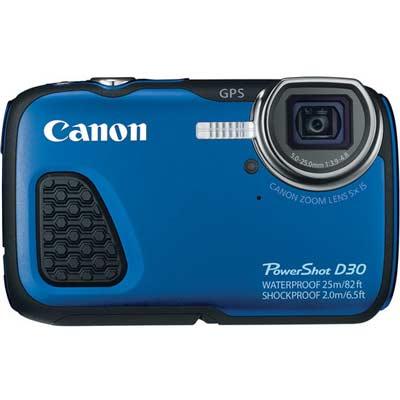 معرفی و بررسی دوربین کانن PowerShot D30
