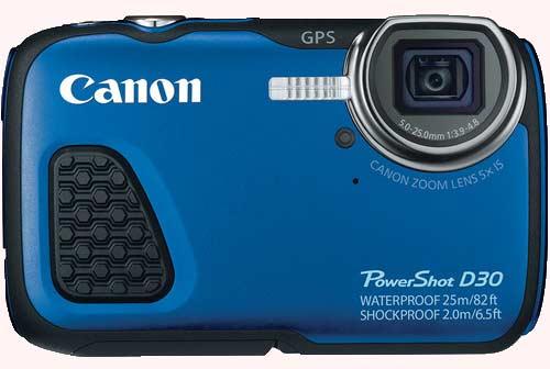 دوربین کانن PowerShot D30