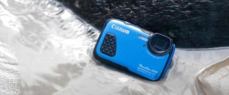 سایر مشخصات دوربین کانن PowerShot D30