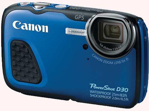 سنسور و پردازشگر دوربین کانن Canon PowerShot D30
