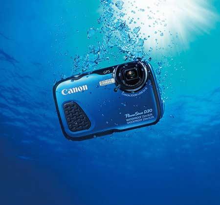 بدنه دوربین کانن PowerShot D30