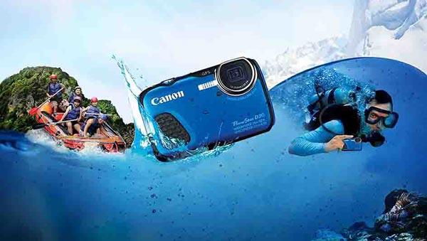 مشخصات عکاسی و فیلمبرداری d30 کانن