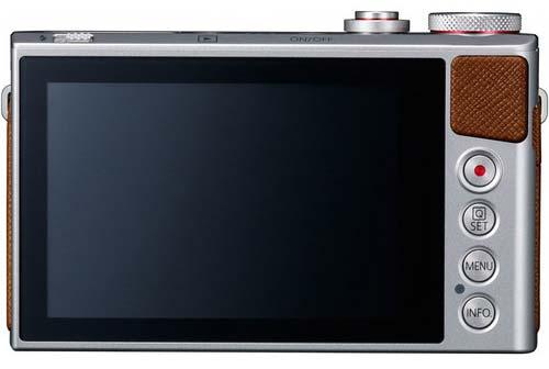 صفحه نمایش دوربین کانن PowerShot G9X