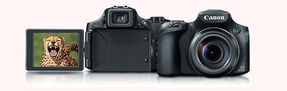 نمایشگر دوربین Canon Powershot SX60 HS