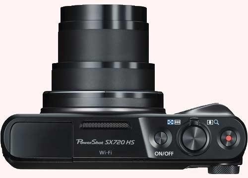 لنز قدرتمند دوربین کنن PowerShot SX720 HS