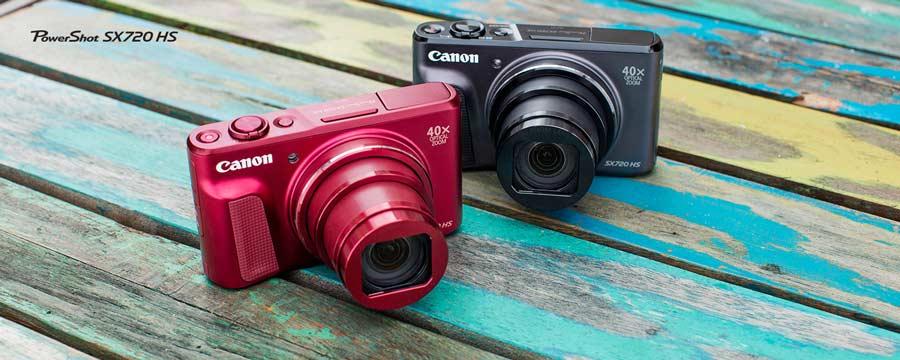 قابلیت های عکسبرداری دوربین کنن PowerShot SX720 HS