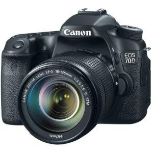 معرفی و بررسی دوربین Canon EOS 70D