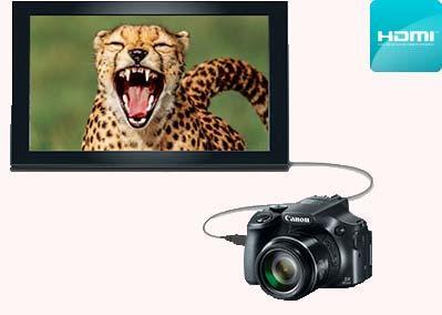 فیلمبرداری دوربین Canon Powershot SX60 HS