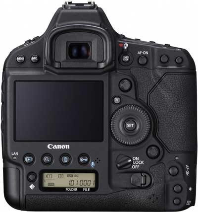 صفحه نمایش و منظره یاب دوربین کانن EOS 1D X Mark II