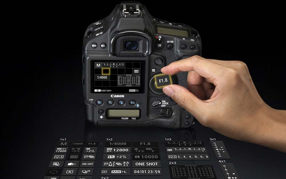 امکانات دوربین کانن EOS 1D X Mark II