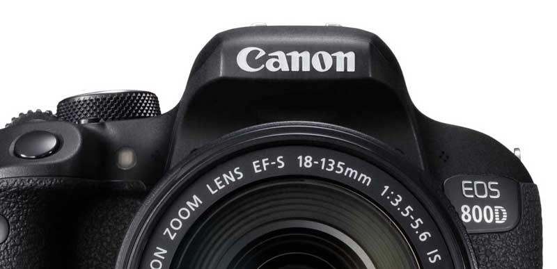 قابلیت های عکاسی و فیلمبرداری دوربین کانن EOS 800D