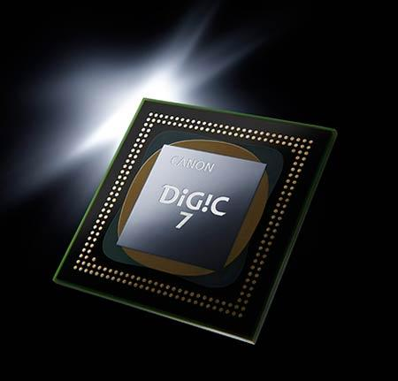 پردازشگرقدرتمند DIGIC 7