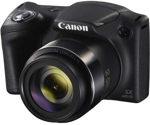 عکاسی و فیلمبرداری با دوربین کانن PowerShot SX420 IS