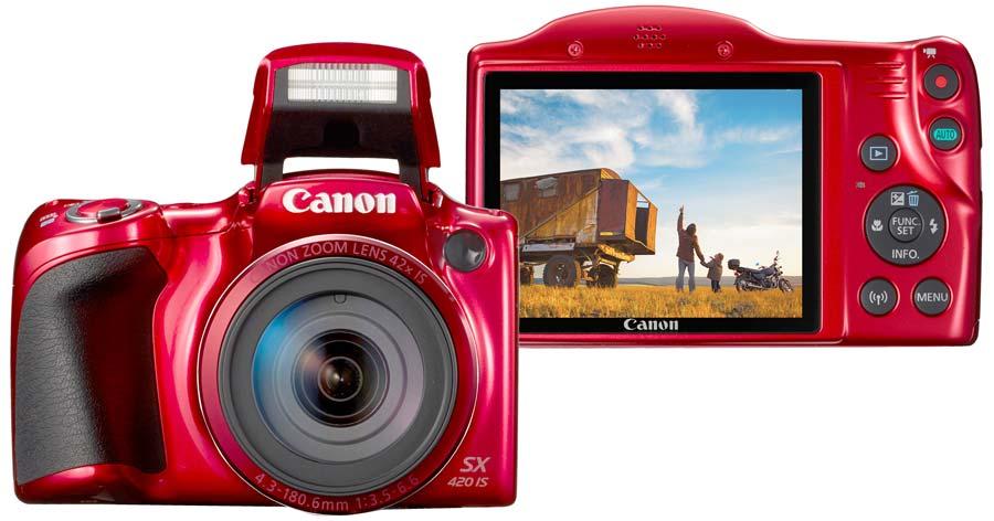 پردازشگر و حسگر دوربین کانن PowerShot SX420 IS
