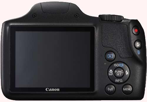 صفحه نمایش دوربین کانن PowerShot SX540 HS