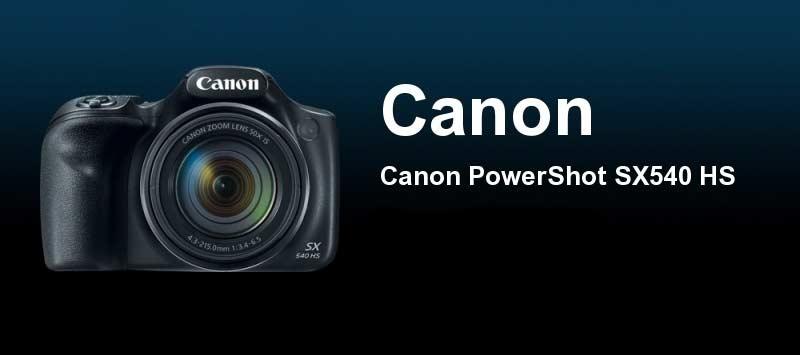 ویژگی های عکاسی دوربین Canon PowerShot SX540 HS