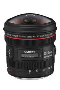 لنز Canon EF 8-15mm f4L Fisheye USM