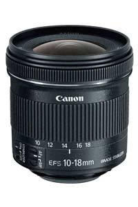 لنز Canon EF-S 10-18mm f/4.5–5.6 IS STM