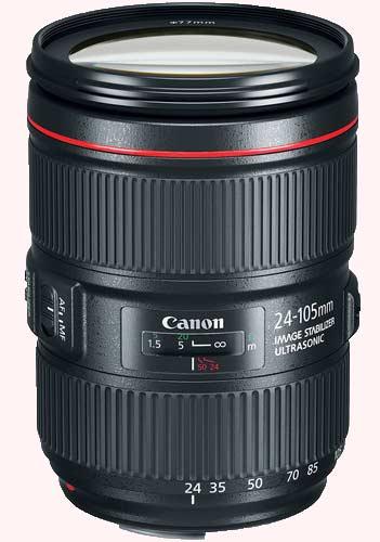 لنز کانن canon-ef-24-105mm-f-4l-is-ii-usm