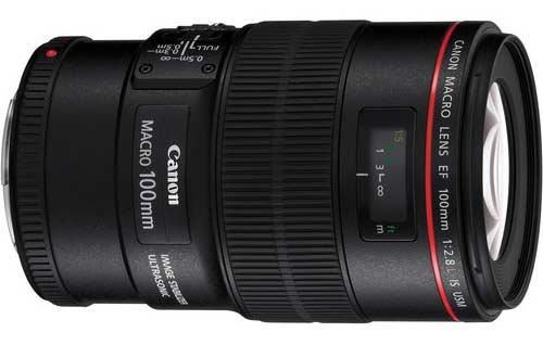 لنز Canon EF 100mm F2.8L Macro IS USM
