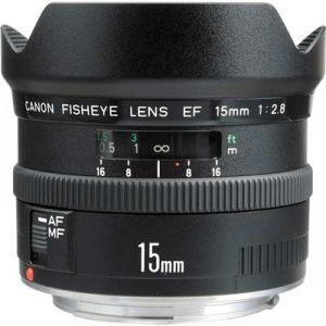 لنز Canon EF 15mm F2.8 Fisheye