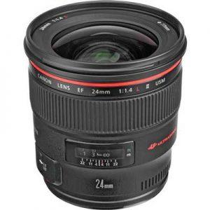 لنز Canon EF 24mm F1.4L II USM