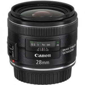 لنز Canon EF 28mm F2.8 IS USM