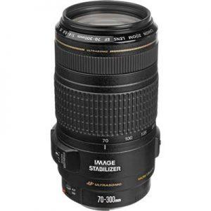 لنز Canon EF 70-300mm F/4-5.6 IS USM