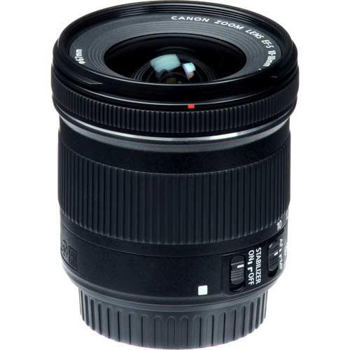لنز Canon EF-S 10-18mm f/4.5–5.6 IS STM