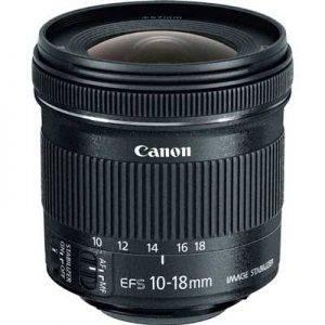 معرفی و بررسی لنز Canon EF-S 10-18mm f/4.5–5.6 IS STM