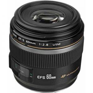 لنز Canon EF-S 60mm F/2.8 Macro USM