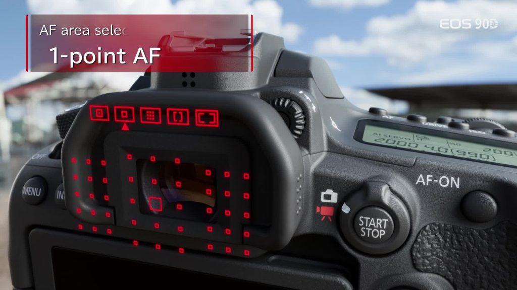 فوکوس دوربین 6D MARK2