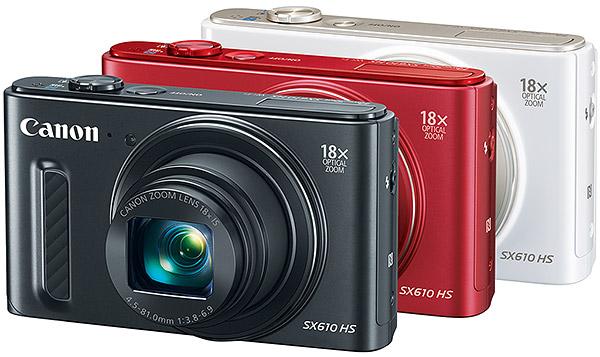 دوربین Canon Powershot SX610