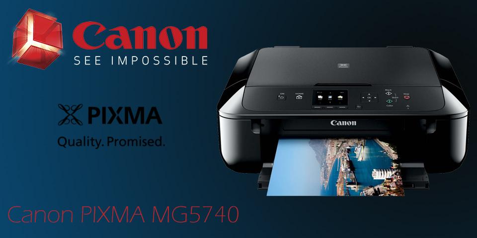 پرینتر Canon PIXMA MG5740