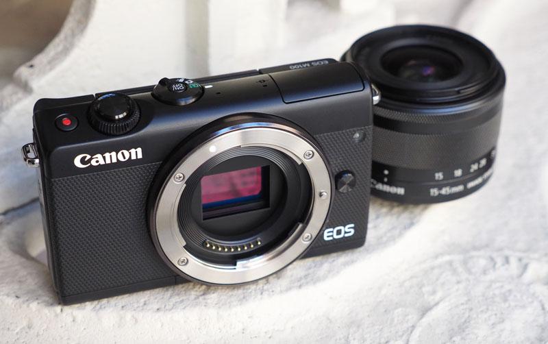 دوربین کانن M100 به همراه لنز 15-45 میلی متر
