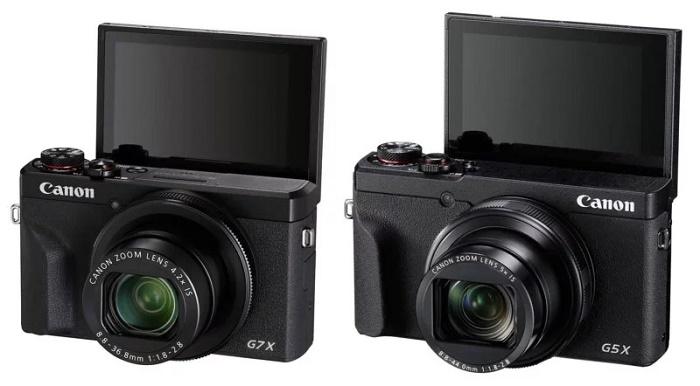 کمپانی کانن پاورشات G7 X III و G5 X Mark II را رونمایی کرد