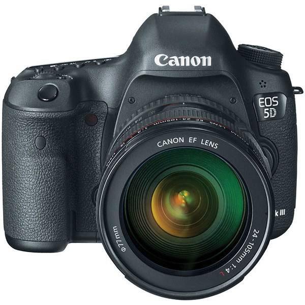دوربین کانن 5D Mark III با لنز 105-24