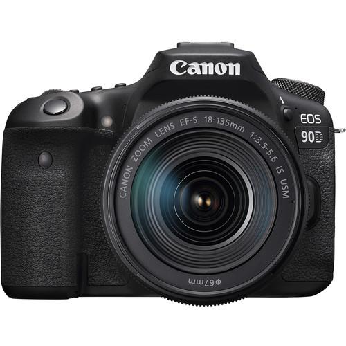 دوربین دیجیتال کانن مدل EOS 90D لنز 135-18