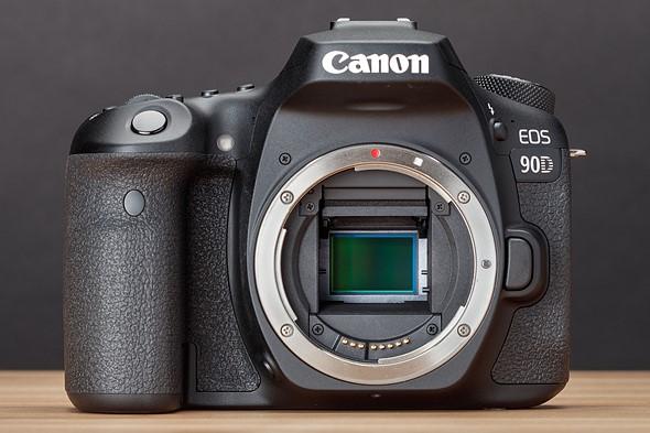 سنسور و پردازنده دوربین کانن 90D