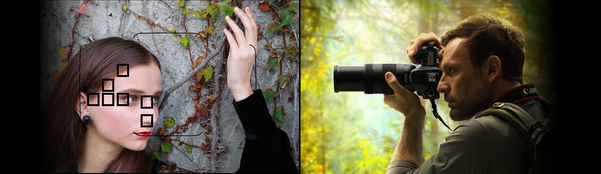 فوکوس و نورسنجی در دوربین عکاسی 90D