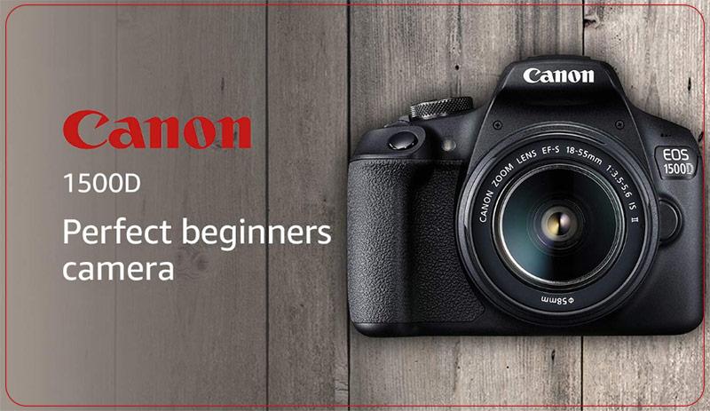 دوربین دیجیتال کانن مدل EOS 1500D به همراه لنز 18-55 میلی متر