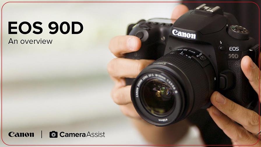دوربین دیجیتال کانن مدل EOS 90D لنز 135-18 میلی متر IS USM