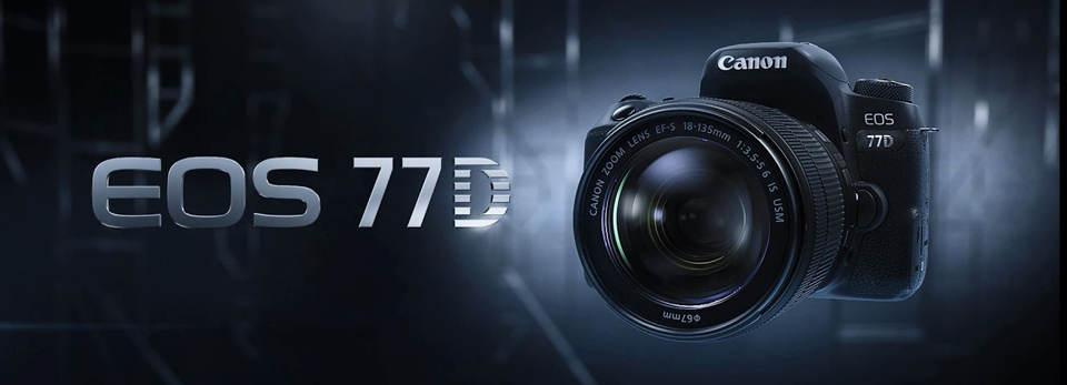 دوربین دیجیتال کانن مدل EOS 77D لنز 18-135