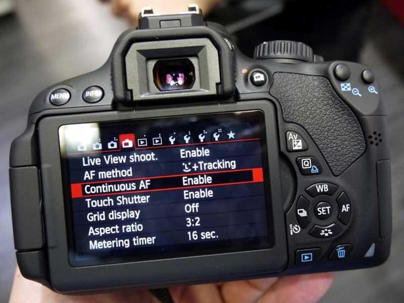 بهترین تنظیمات دوربین DSLR