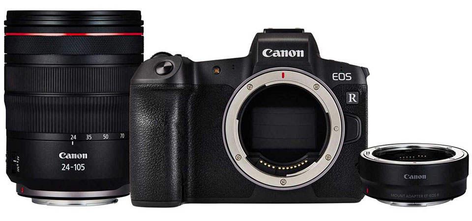 دوربین بدون آینه کانن Canon EOS R Kit 24-105mm