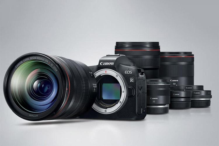 لنز دوربین کانن EOS R