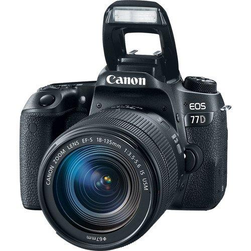 دوربین عکاسی کانن Canon 77D با لنز 18-135